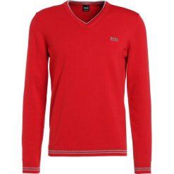 BOSS ATHLEISURE VIME Sweter red. Czerwone kardigany męskie BOSS Athleisure, m, z bawełny. W wyprzedaży za 349,30 zł.