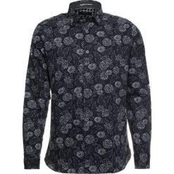 Ted Baker LEVAL DOTTED FLORAL PRINTED Koszula navy. Niebieskie koszule męskie na spinki Ted Baker, m, z bawełny. Za 529,00 zł.