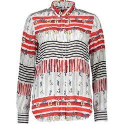Topy sportowe damskie: Bluzka – Comfort fit – w kolorze czerwono-beżowym
