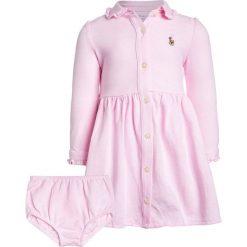Odzież dziecięca: Polo Ralph Lauren SET Sukienka letnia carmel pink/white