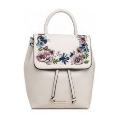 Plecaki damskie: Bessie London Plecak Damski, Kremowy