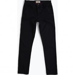 Review - Spodnie chłopięce, niebieski. Czarne jeansy chłopięce marki bonprix, z aplikacjami. Za 119,95 zł.