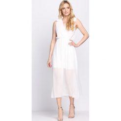 Sukienki: Biała Sukienka Supernatural
