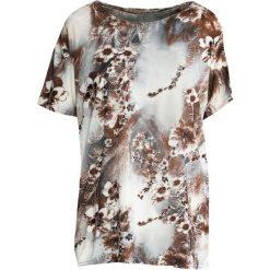 T-shirty damskie: CiemnoBrązowy T-shirt Just In Case