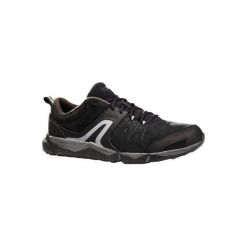 Skórzane buty męskie do szybkiego marszu PW 940 Propulse Motion czarne. Czarne buty fitness męskie marki NEWFEEL, z poliesteru. Za 279,99 zł.