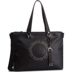 Torebka LIU JO - M E/W Tote Colorado N68212 E0037 Nero 22222. Czarne torebki klasyczne damskie Liu Jo, ze skóry ekologicznej, duże. Za 649,00 zł.