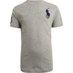 Polo Ralph Lauren BIG Tshirt z nadrukiem andover heather. Szare t-shirty chłopięce Polo Ralph Lauren, z nadrukiem, z bawełny. Za 149,00 zł.