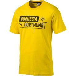 Puma Koszulka męska BVB Borussia Tee Cyber Yellow r. L (751829 01). Żółte koszulki sportowe męskie Puma, l. Za 94,34 zł.