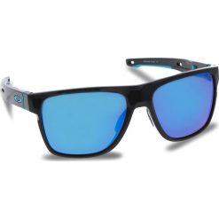 Okulary przeciwsłoneczne OAKLEY - Crossrange XL OO9360-1358 Polished Black/Prizm Sapphire Iridium. Czarne okulary przeciwsłoneczne męskie aviatory Oakley, z tworzywa sztucznego. W wyprzedaży za 579,00 zł.