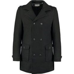 KIOMI Płaszcz wełniany /Płaszcz klasyczny black. Czarne płaszcze wełniane męskie marki KIOMI, m, klasyczne. W wyprzedaży za 407,20 zł.