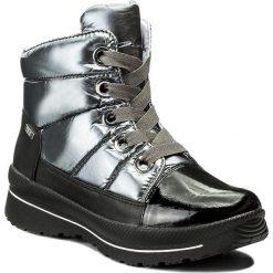 Śniegowce CAPRICE - 9-26202-29 Blk/Silv Multi 025. Szare buty zimowe damskie Caprice, z materiału. W wyprzedaży za 259,00 zł.