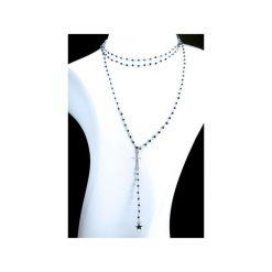 Naszyjniki damskie: Naszyjnik Spinel Metalizowany srebro