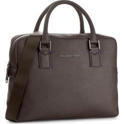 Torba na laptopa TRUSSARDI JEANS - Ottawa 71B00008 B290. Brązowe plecaki męskie marki Trussardi Jeans, z jeansu. W wyprzedaży za 479,00 zł.