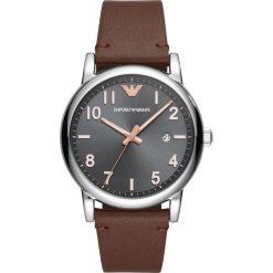 Armani Exchange - Zegarek AR11175. Czarne zegarki męskie marki Armani Exchange, l, z materiału, z kapturem. Za 899,90 zł.