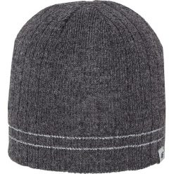 Czapka męska CAM012z - szary melanż - 4F. Szare czapki zimowe męskie 4f, na jesień, melanż, z materiału. Za 29,99 zł.