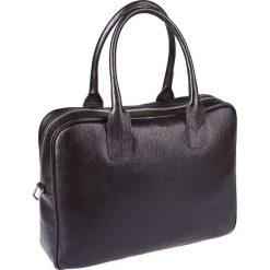 Torba Lindos Brązowa. Brązowe torby na laptopa marki LANCERTO, w paski, ze skóry. Za 699,90 zł.
