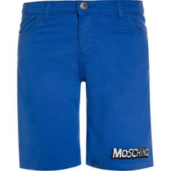 MOSCHINO Szorty surf blue. Zielone spodenki chłopięce MOSCHINO, z bawełny. W wyprzedaży za 251,30 zł.