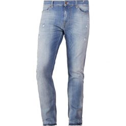 7 for all mankind RONNIE UNROLLED Jeansy Slim Fit hellblau washed. Niebieskie jeansy męskie relaxed fit 7 for all mankind. W wyprzedaży za 472,05 zł.