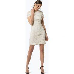 LAUREN RALPH LAUREN - Sukienka damska, beżowy. Brązowe sukienki koronkowe Lauren Ralph Lauren, w koronkowe wzory, dopasowane. Za 749,95 zł.