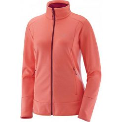 Salomon Bluza Discovery Fz W Fluo Coral S. Szare bluzy sportowe damskie marki Salomon, z gore-texu, na sznurówki, outdoorowe, gore-tex. W wyprzedaży za 289,00 zł.