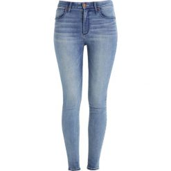 Rurki damskie: Abercrombie & Fitch HIGH RISE SUPER SKINNY Jeans Skinny Fit blue