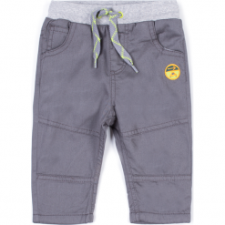 Spodnie. Szare spodnie chłopięce Cars, z bawełny. Za 29,90 zł.