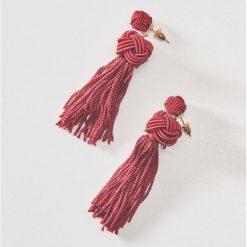 Długie kolczyki - Bordowy. Czerwone kolczyki damskie House. Za 15,99 zł.