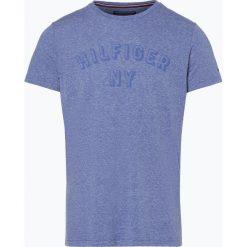 Tommy Hilfiger - T-shirt męski, niebieski. Szare t-shirty męskie marki TOMMY HILFIGER, z bawełny. Za 179,95 zł.