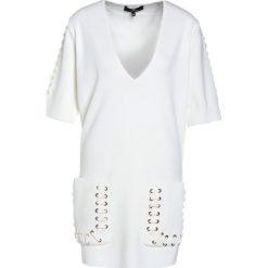Sukienki hiszpanki: Elisabetta Franchi Sukienka letnia avorio
