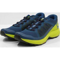 Salomon XA ELEVATE Obuwie do biegania Szlak poseidon/lime green/black. Niebieskie buty do biegania męskie marki Salomon, z materiału. Za 569,00 zł.