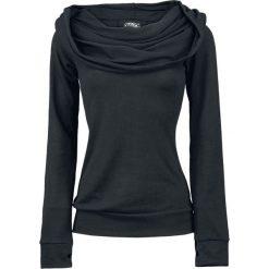 Bluzy rozpinane damskie: Vixxsin Rest Bluza z kapturem damska czarny