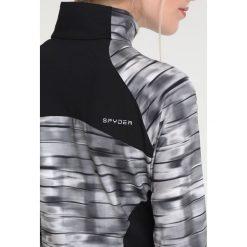 Spyder SHOWCASE Koszulka sportowa black wind/black. Czarne topy sportowe damskie Spyder, s, z elastanu, z długim rękawem. W wyprzedaży za 377,10 zł.