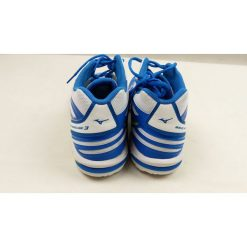 Buty skate męskie: Mizuno Buty Męskie WAVE HURRICANE 3 Niebiesko - Białe r. 45 (V1GA174544) [outlet]