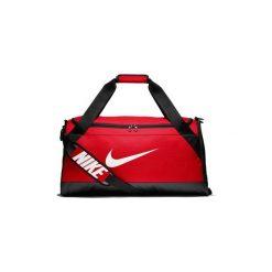 Torby sportowe Nike  BA5334  Brasilia (Medium) Training Duffel Bag. Czerwone torby podróżne Nike. Za 155,23 zł.
