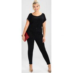 New Look Curves RAW HEM DISCO Jeansy Slim Fit  black. Czarne jeansy damskie New Look Curves, z bawełny. Za 189,00 zł.