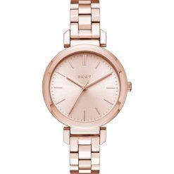 Zegarek DKNY - Ellington NY2584 Rose Gold/Rose Gold. Czerwone zegarki damskie DKNY. Za 649,00 zł.