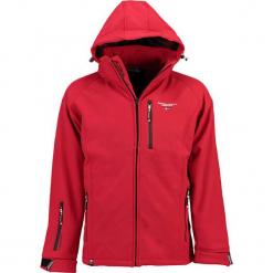 """Kurtka softshellowa """"Toujours"""" w kolorze czerwonym. Niebieskie kurtki męskie marki GALVANNI, l, z okrągłym kołnierzem. W wyprzedaży za 227,95 zł."""