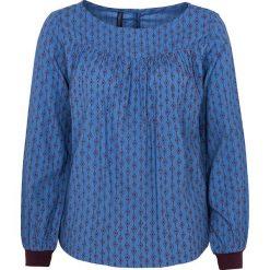 """Bluzki asymetryczne: Koszulka """"Hatti"""" w kolorze niebieskim"""