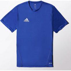 Adidas Koszulka piłkarska męska Core Training Jersey niebieska r. M (S22393). Niebieskie koszulki do piłki nożnej męskie marki Adidas, m, z jersey. Za 77,49 zł.