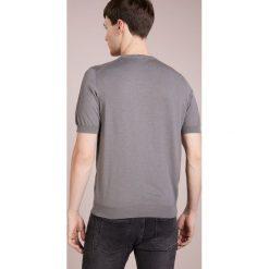 Drumohr Tshirt basic beige. Białe koszulki polo marki Bambi, l, z nadrukiem, z okrągłym kołnierzem. W wyprzedaży za 394,50 zł.