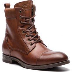 Kozaki WOJAS - 8224-52 Brąz. Brązowe buty zimowe męskie Wojas, ze skóry. W wyprzedaży za 379,00 zł.