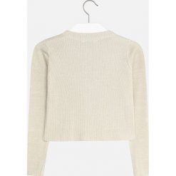 Mayoral - Sweter dziecięcy 128-167 cm. Białe swetry dziewczęce marki Reserved, l. Za 114,90 zł.