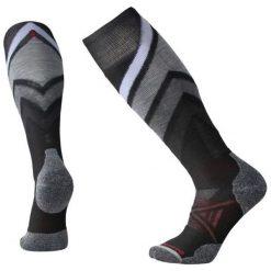 Smartwool Skarpetki Narciarskie Męskie Phd Ski Medium Pattern Black M. Szare skarpetki męskie marki 4f, l, z elastanu, z długim rękawem. Za 105,00 zł.