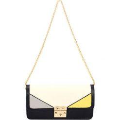 Torebki klasyczne damskie: Skórzana torebka w kolorze czarnym – (S)27 x (W)14 x (G)6 cm