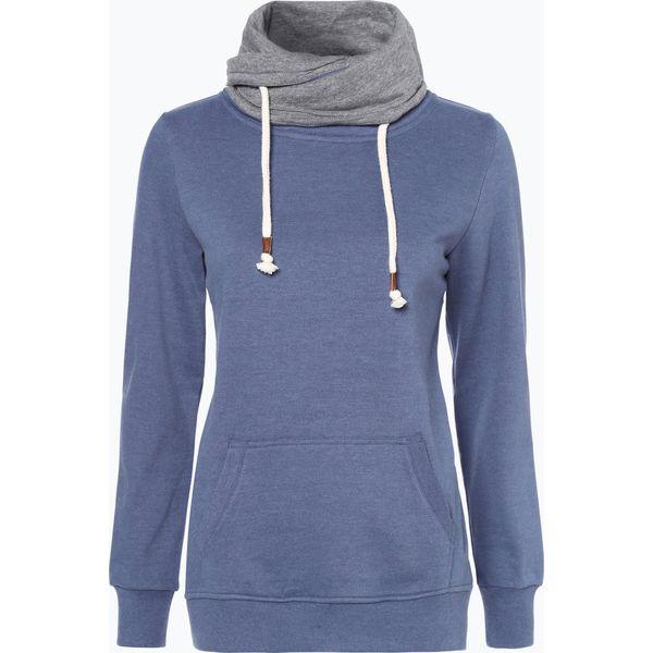850052d06 Marie Lund - Damska bluza nierozpinana, niebieski - Niebieskie bluzy  damskie Marie Lund, xs, bez wzorów, bez rękawów, bez kaptura. Za 229,95 zł.