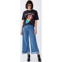 Odzież: Koszulka The Rolling Stones z językiem