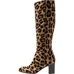 Lamica ENTE Kozaki brown. Brązowe buty zimowe damskie Lamica, z materiału. Za 799,00 zł.