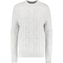 Samsøe & Samsøe DOUG Sweter clear cream. Białe kardigany męskie Samsøe & Samsøe, m, z materiału. W wyprzedaży za 363,30 zł.