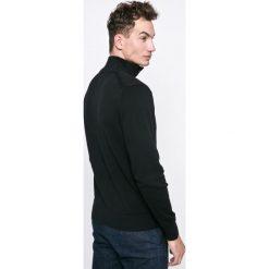Tommy Hilfiger - Sweter. Szare swetry klasyczne męskie TOMMY HILFIGER, m, z bawełny. W wyprzedaży za 379,90 zł.