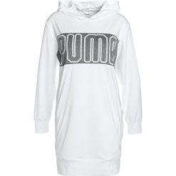 Puma SPARK COVERUP Koszulka sportowa white. Białe t-shirty damskie Puma, m, z elastanu, z długim rękawem. Za 209,00 zł.
